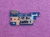Плата с USB и картридером HP 15-bw