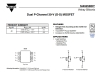 Транзистор Mosfet Si4925BDY
