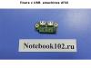 Плата с USB eMachines d732